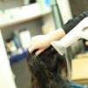 ヘッドスパをすると髪を乾かす時間が早くなる!!