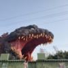 【兵庫県立淡路島公園ニジゲンノモリ】にゴジラが出現!!